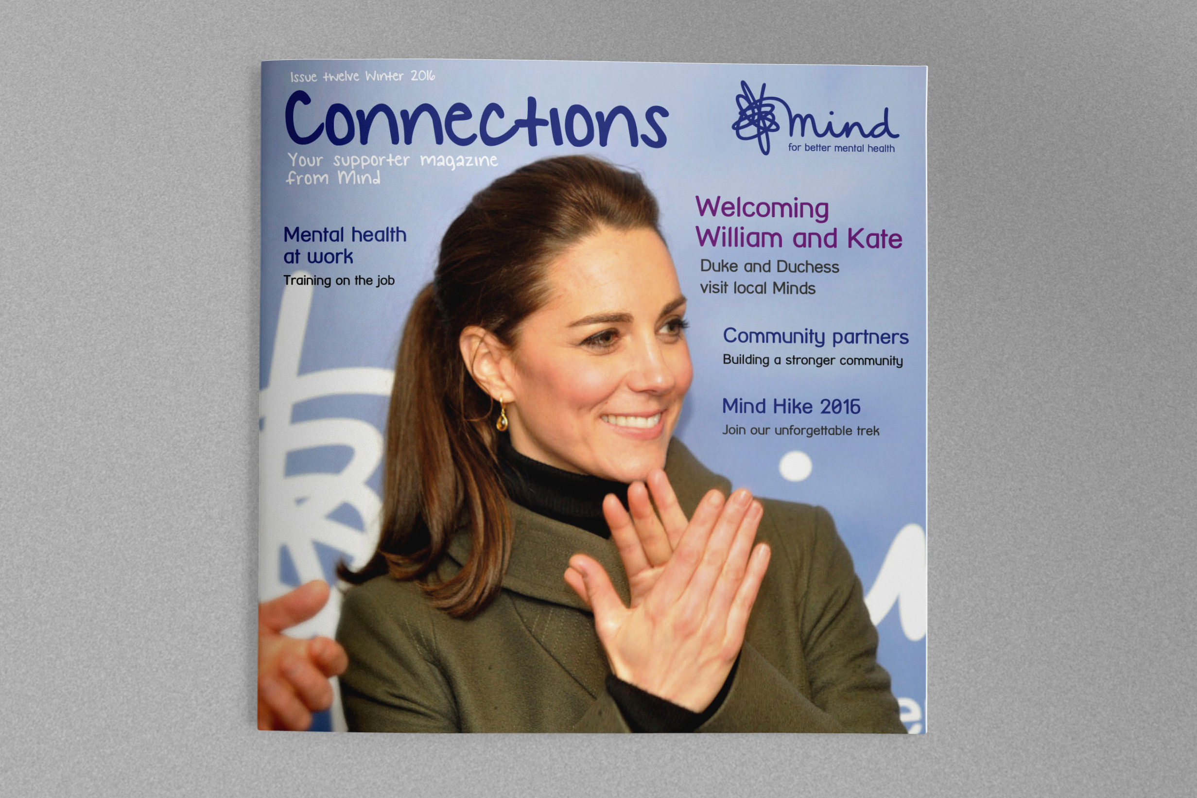 charity newsletter royal cover