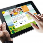 Children's services website design